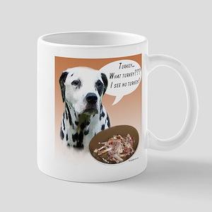 Dalmatian Turkey Mug