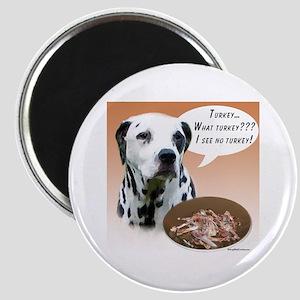 Dalmatian Turkey Magnet