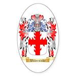Wabersinke Sticker (Oval 50 pk)