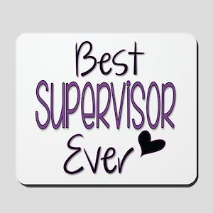 Speech Supervisor Mousepad