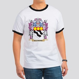 Clemons Coat of Arms (Family Crest) T-Shirt