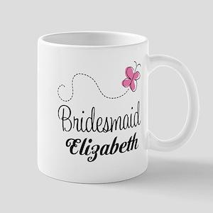 Bridesmaid Bridal Party Custom Mugs