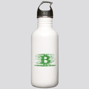 IN CRYPTOGRAPHY WE TRU Stainless Water Bottle 1.0L