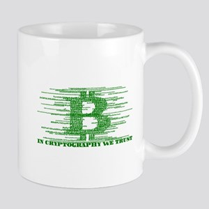 IN CRYPTOGRAPHY WE TRUST Mugs