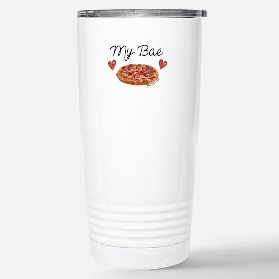 Cute Pepperoni Travel Mug
