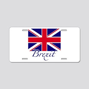 Brexit Aluminum License Plate