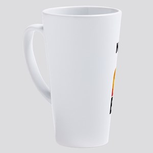 Emoji Name is Bae Personalized 17 oz Latte Mug