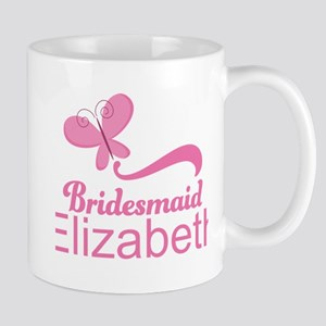 Cute Bridesmaid Personalized Gift Mugs