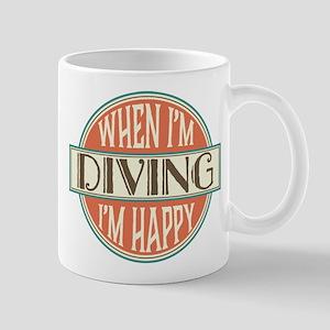 happy diver Mug