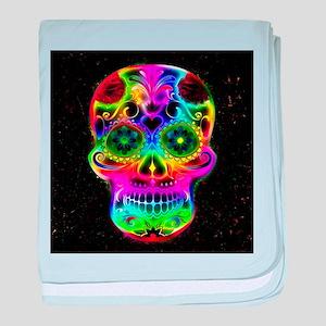 Skull20160604 baby blanket