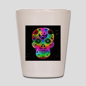 Skull20160604 Shot Glass