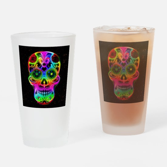 Skull20160604 Drinking Glass