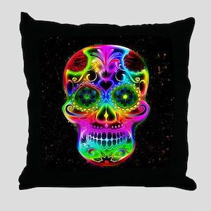 Skull20160604 Throw Pillow
