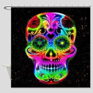 Skull20160604 Shower Curtain