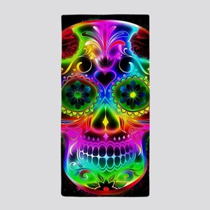 Skull20160604 Beach Towel