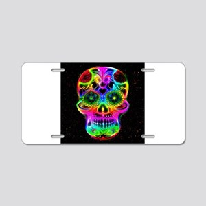 Skull20160604 Aluminum License Plate