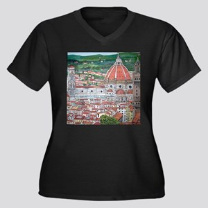 The Duomo of Florence Plus Size T-Shirt