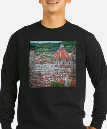The Duomo of Florence Long Sleeve T-Shirt