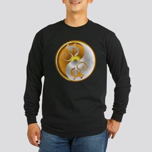 Zen Dragons Long Sleeve Dark T-Shirt