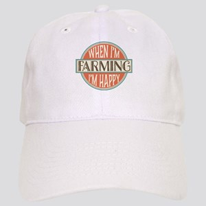 happy farmer Cap