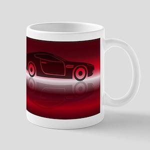 Two Door Sports Car Mugs