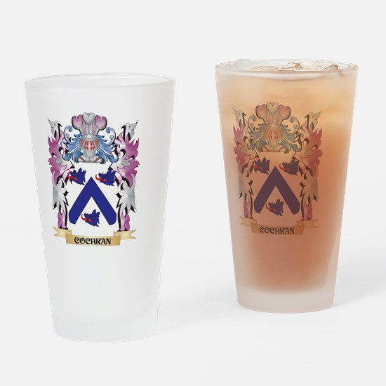 Cochran Coat of Arms (Family Crest) Drinking Glass