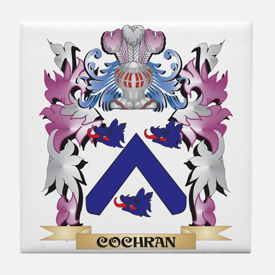 Cochran Coat of Arms (Family Crest) Tile Coaster