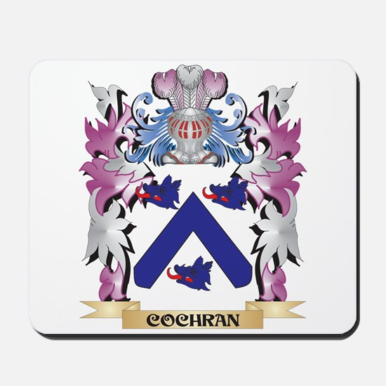 Cochran Coat of Arms (Family Crest) Mousepad