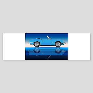 Old Style Sports Car Bumper Sticker