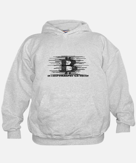 IN CRYPTOGRAPHY WE TRUST Hoodie