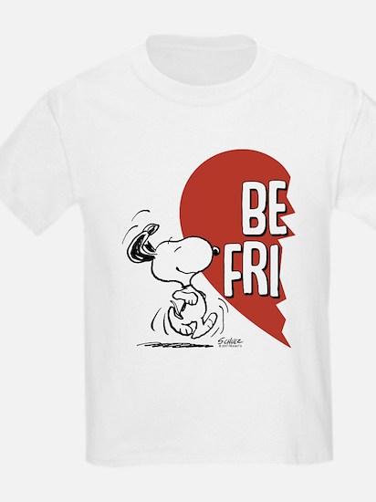 Peanuts Best Friends Heart T-Shirt