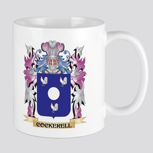 Cockerell Coat of Arms (Family Crest) Mugs