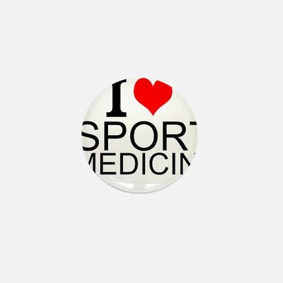 I Love Sports Medicine Mini Button
