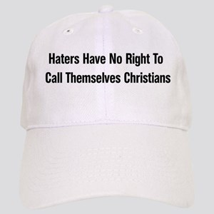 Hate Is Not Christian Cap