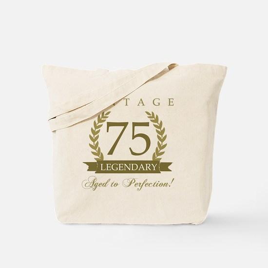 Cute 75th birthday Tote Bag