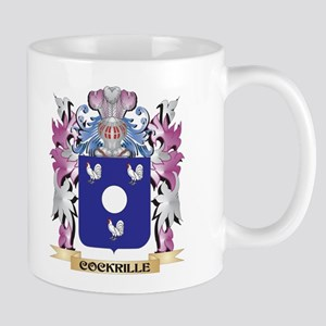 Cockrille Coat of Arms (Family Crest) Mugs
