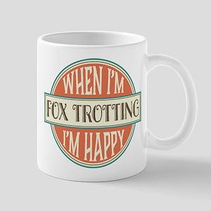 happy fox trotter Mug
