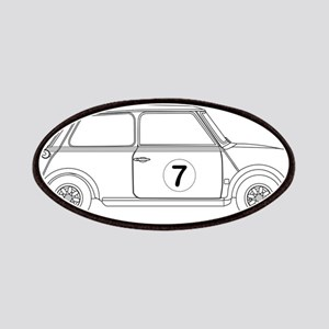 Compact Saloon Outline Drawing Patch