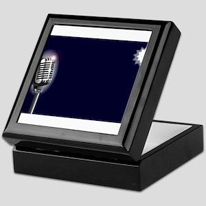 Karaoke Stage Night Keepsake Box