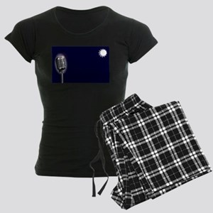 Karaoke Stage Night Women's Dark Pajamas