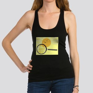 Summer Under The Magnifying Gla Racerback Tank Top
