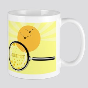 Summer Under The Magnifying Glass Mugs