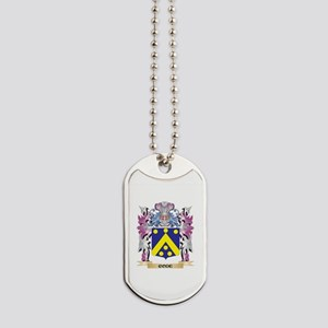 Code Coat of Arms (Family Crest) Dog Tags