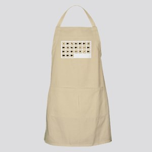 Guitar Wooden Pieces Apron