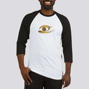 The eye should learn to listen bef Baseball Jersey