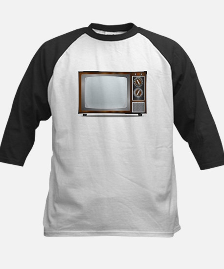 Old Television Set Baseball Jersey