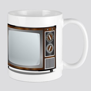 Old Television Set Mugs