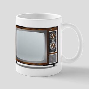 Old Television Set Mugs
