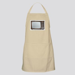 Old Television Set Apron