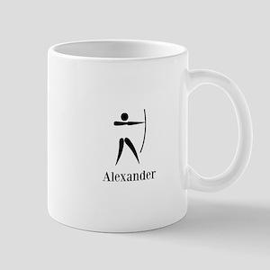 Team Archery Monogram Mug